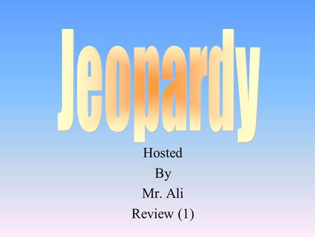 Hosted By Mr. Ali Review (1)