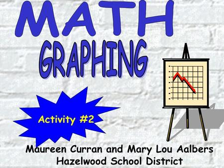 Maureen Curran and Mary Lou Aalbers Hazelwood School District Activity #2.