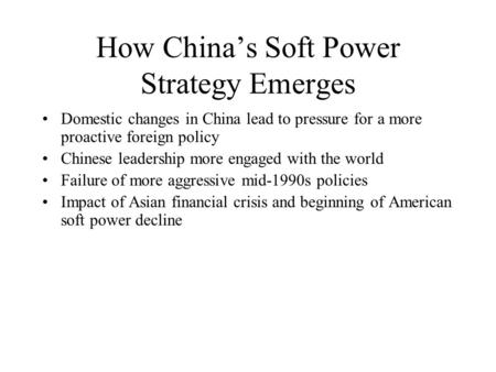united states policy on china essay Obama's foreign policy on china essay  and not least the agitation that china feels is instigated by the united states in south east asia, the relations.