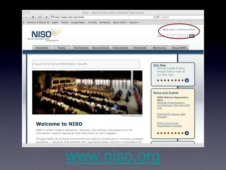 Www.niso.org. Sign In Sign-in Screen Password Help.