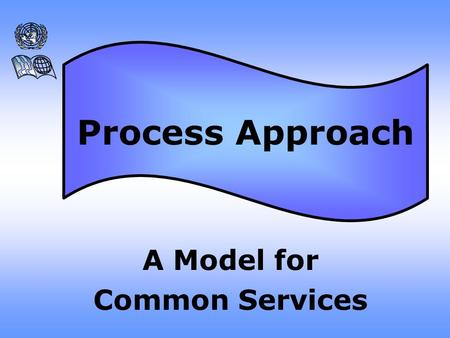 A Model for Common Services Process Approach Assessment Planning Decision-Making Management.