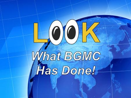 BGMC provided Bible flannelgraph sets for childrens church. BGMC provided Bible flannelgraph sets for childrens church.