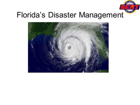 Floridas Disaster Management. The 2004 Hurricane Season Tropical Storm Bonnie and Hurricanes Charley, Frances, Ivan and Jeanne occurred in a six-week.