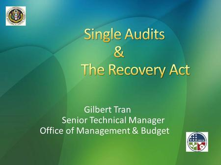 Single Audits & The Recovery Act