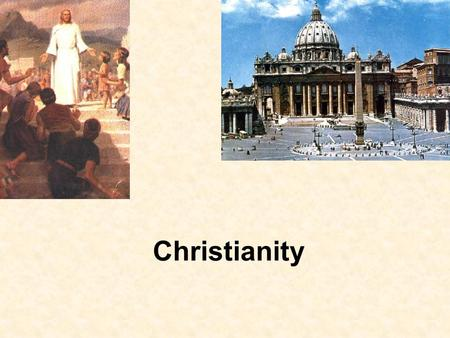 Christianity. FactFaith Rome and Religion Must worship Emperors as Gods except Jews. Passive worship to Gods to show loyalty to Emperor. Life of Jesus.