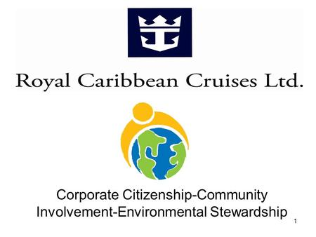 Corporate Citizenship-Community Involvement-Environmental Stewardship 1.