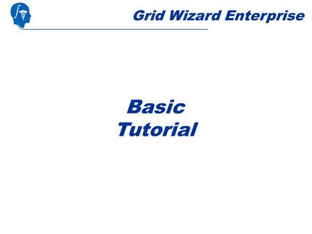 Grid Wizard Enterprise Basic Tutorial. Steps Overview.