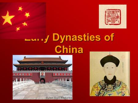 Early Dynasties of China