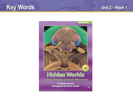 Unit 2 Week 1 Key Words. Unit 2 Week 1 specimens Key Words.