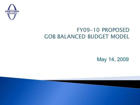 May 14, 2009. The annual budget presents a complete financial plan and includes the following: Important features and major changes from the preceding.
