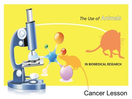 Cancer Lesson. Learning Topic: Specific facts and vocabulary about cancer. Focus Question: How would you define cancer?