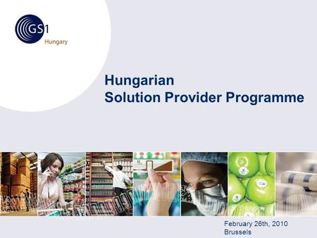 Hungarian Solution Provider Programme February 26th, 2010 Brussels.