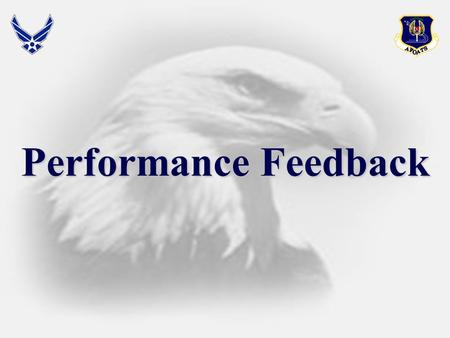 Performance Feedback.