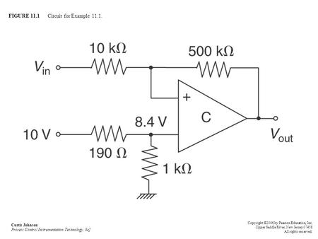 FIGURE 11.1 Circuit for Example 11.1.