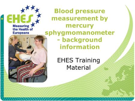 EHES Training Material