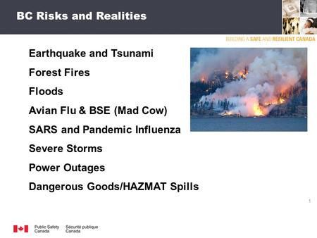 Technologys Role in Emergency Management 24 February 2012.