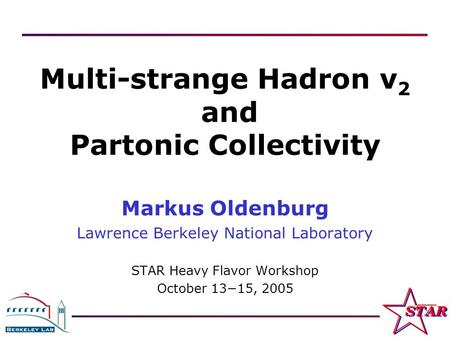 Multi-strange Hadron v2 and Partonic Collectivity