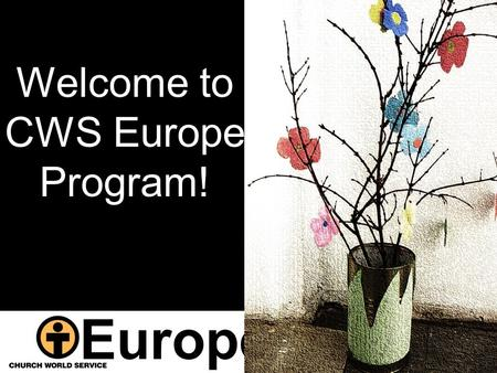 Europe Welcome to CWS Europe Program!. 1 2011 CWS Priorities in Moldova.