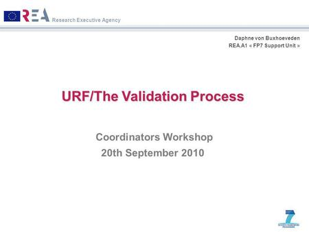 URF/The Validation Process