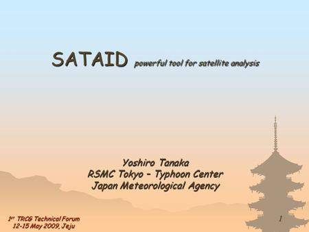 SATAID powerful tool for satellite analysis