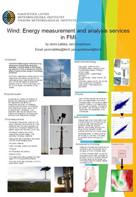Wind: Energy measurement and analysis services in FMI