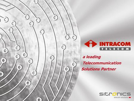 -1--1- a leading Telecommunication Solutions Partner.