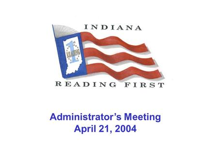 Administrators Meeting April 21, 2004. Key Areas of Grant-Based Monitoring Schools to be Served Instructional Assessments Instructional Strategies and.