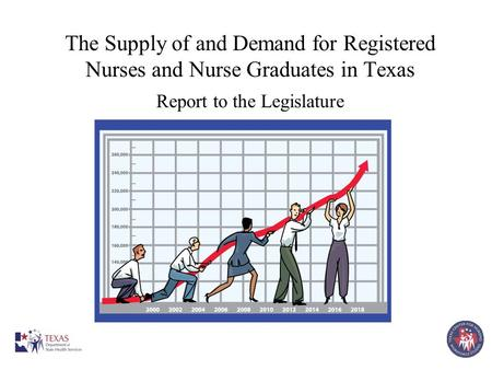 The Supply of and Demand for Registered Nurses and Nurse Graduates in Texas Report to the Legislature.