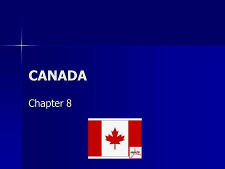 CANADA Chapter 8.