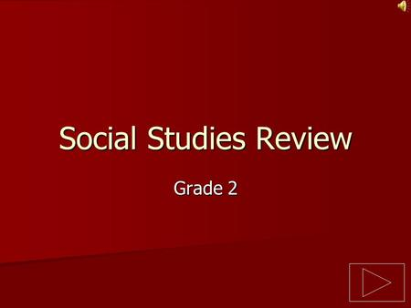 Social Studies Review Grade 2.