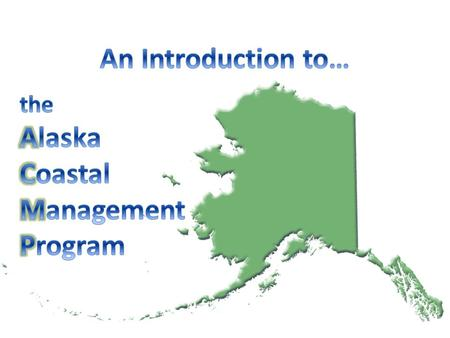 To develop, conserve and enhance natural resources for present and future Alaskans. Department of Natural Resources: