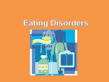 Myth Eating disorders affect only females. Fact Eating disorders affect females more than males, but males do develop eating disorders. Because of this.