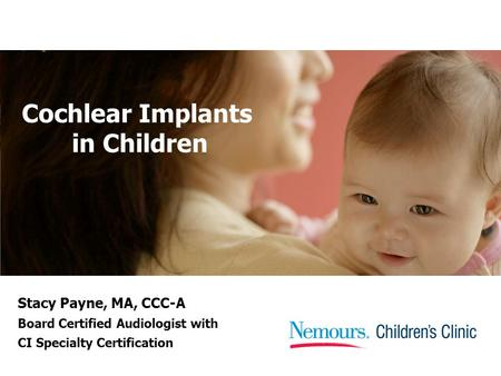 Cochlear Implants in Children