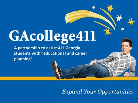A partnership to assist ALL Georgia students with educational and career planning.