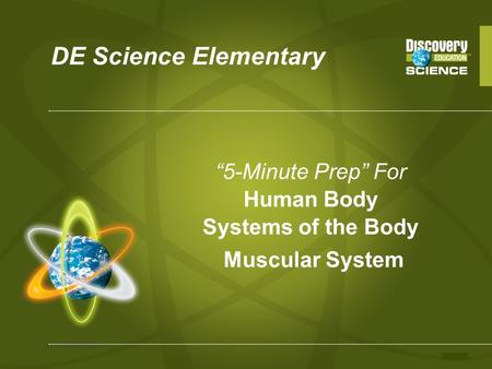 """5-Minute Prep"" For Human Body Systems of the Body"