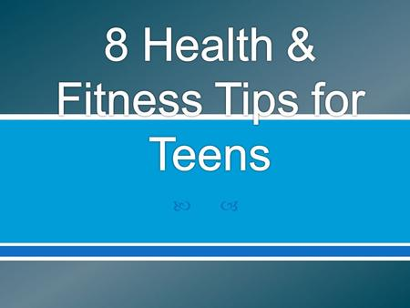 More than ½ of male teens and more than 2/3 of female teens do not eat breakfast on a regular basis. Eating breakfast can upstart your metabolism which...