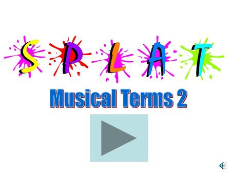 Musical Terms 2.