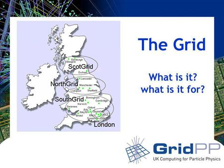The Grid What is it? what is it for?. Your university or experiment logo here Web: information sharing Invented at CERN by Tim Berners-Lee No. of Internet.