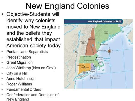 contrast colonial new england with chesapeake The early colonies in the new england and chesapeake bay area's similarities included their religion, language and where their loyalty was placed, whereas their differences included life expectancy, education and the center of their societies.
