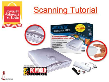 Scanning <strong>Tutorial</strong>. Scanning Stations The following <strong>tutorial</strong> will assist you in learning how to scan images and documents. The following <strong>tutorial</strong> will.