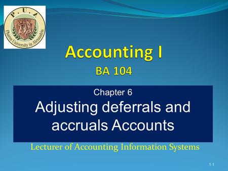 Dr. Mohamed A. Hamada Lecturer of Accounting Information Systems