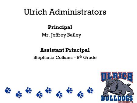Ulrich Administrators
