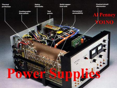Al Penney VO1NO Power Supplies.