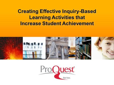 Creating Effective Inquiry-Based Learning Activities that Increase Student Achievement.