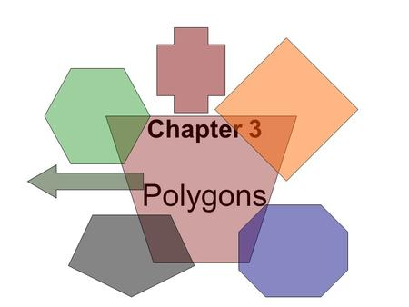 Chapter 3 Polygons.