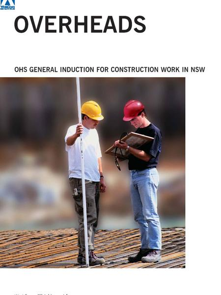 OHS General Induction for Construction Work in NSW.
