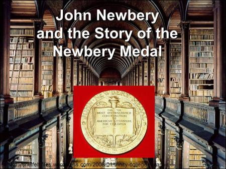 John Newbery and the Story of the Newbery Medal  dub.jpg.
