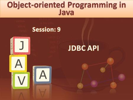 Objectives Describe JDBC Describe JDBC Driver Types