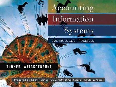 Accounting Information Systems, 1st Edition