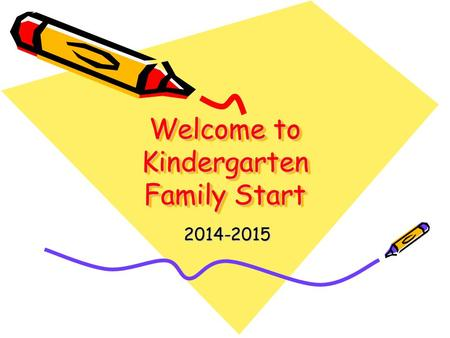 Welcome to Kindergarten Family Start 2014-2015. Introductions Kindergarten Teachers Mrs. Thompson Mrs. Williams Ms. Reiman.
